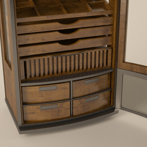 Exclusive Cigar Humidor Cabinet Design wanted