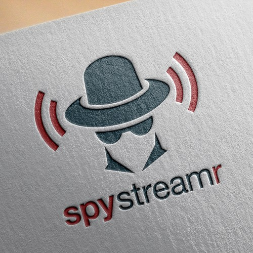 Logo concept for SpyStreamr
