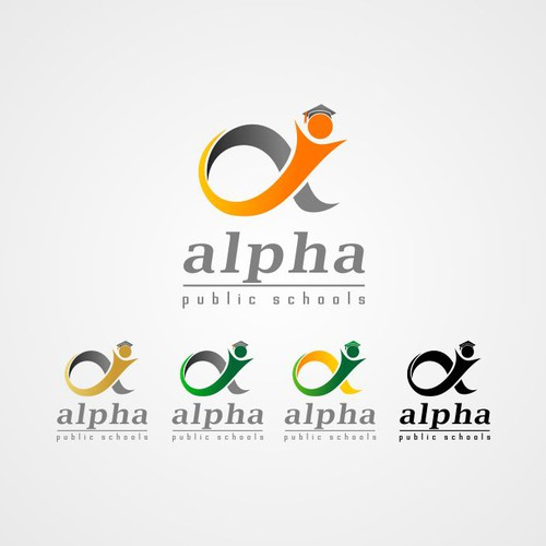 Alpha Public Schools needs a new logo