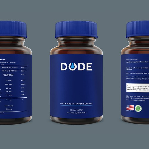 Logo and label for DODE