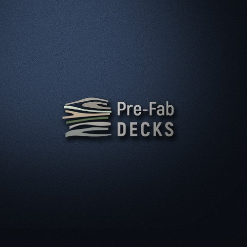 Logo creation for wood deck company