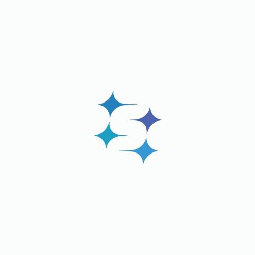 clever monogram logo