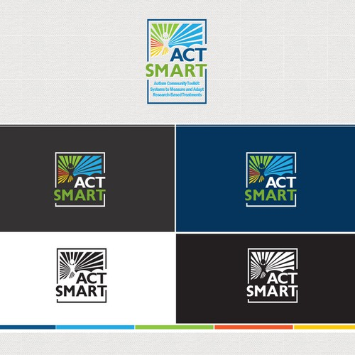Develop the ACT SMART logo for autism collaborative group
