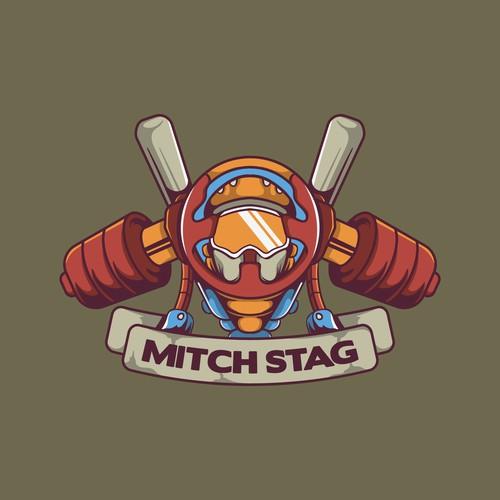 Mitch Stag Logo Concept