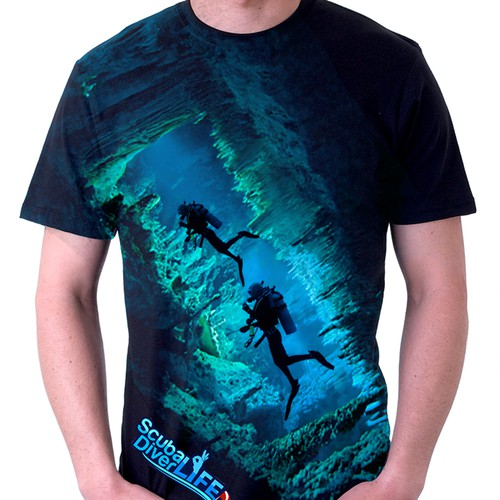 Help Scuba Diver Life with a new t-shirt design