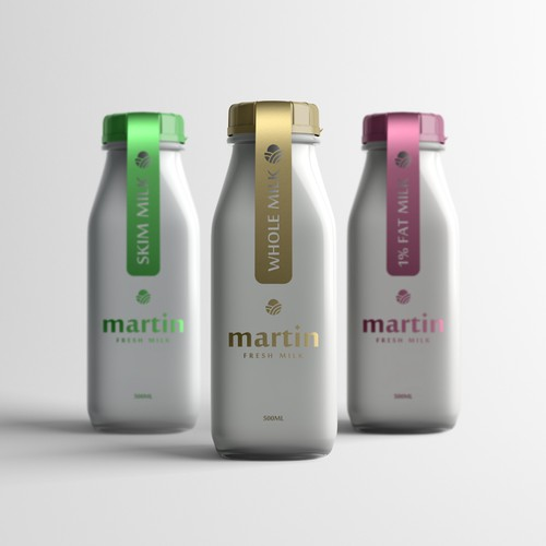 Martin - Milk  Packaging Design