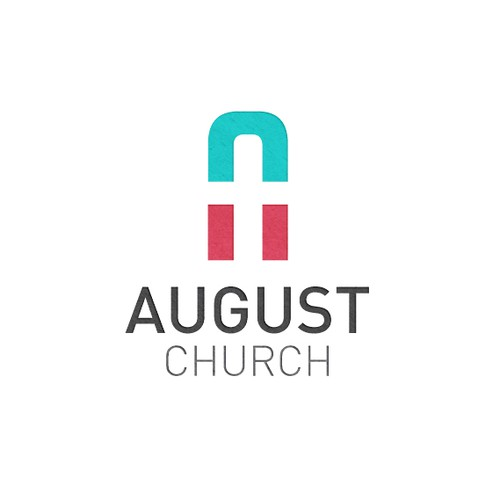 August Church Logo Design