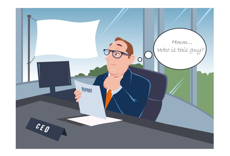 Illustration of a successful, wealthy CEO needed for an attractive campaign!