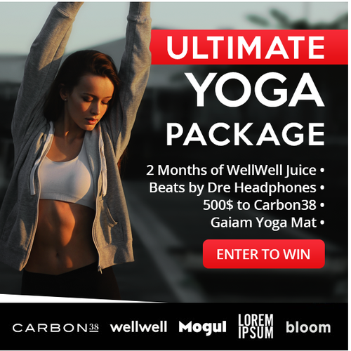 Hot Women's Lifestyle Brand - Email Ad Banner Contest