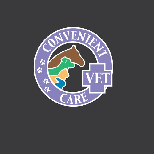 Colorful Vet Design