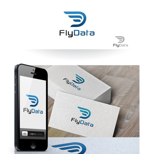 Design winning logo for international startup: FlyData