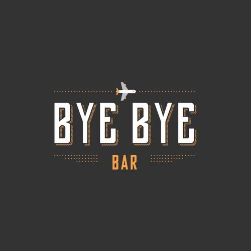 Logodesign für BYE BYE Bar in Zürich