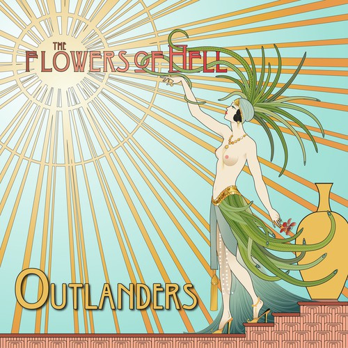 Art nouveau inspired cd cover