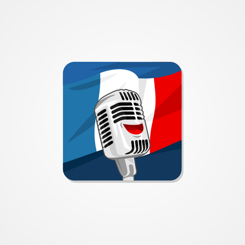 French Learning icon for ios