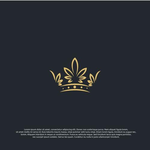 logo concept for royal greens