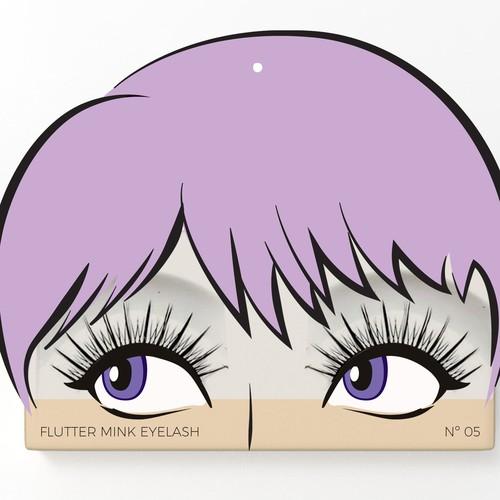 Packaging Design for Eyelashes Brand