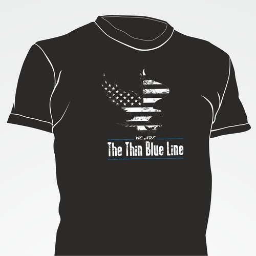 Create a Proud and Powerful Design for Law Enforcement
