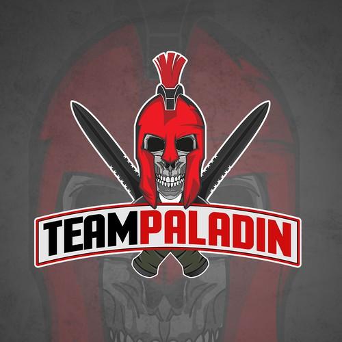 Mascot Logo for Team Paladin