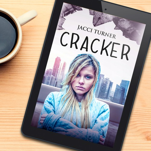 Book cover design for Cracker