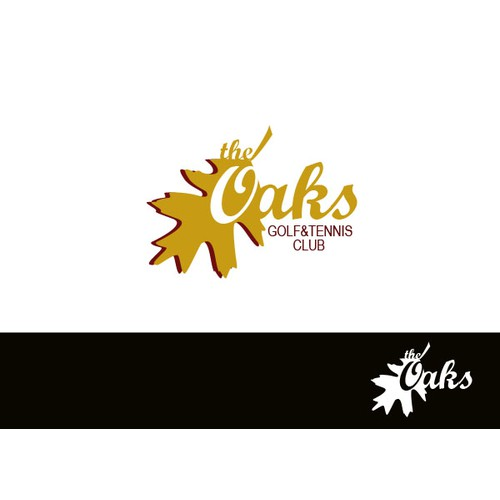 logo for The Oaks Golf and Tennis Club