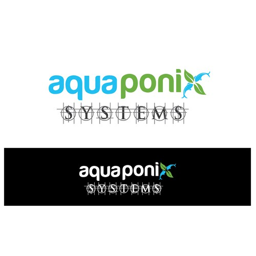 Aquaponix Systems: Creating a logo for an aquaponics systems/equipment business