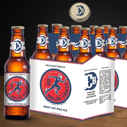 Beer Label & 6-Pack Design
