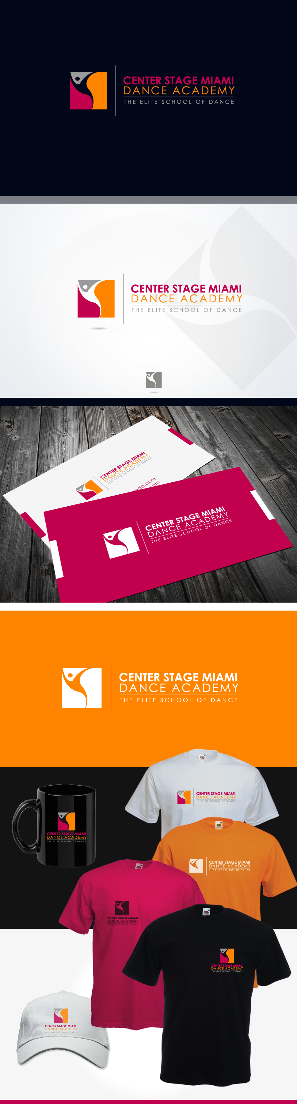 logo for Center Stage Miami Dance Academy