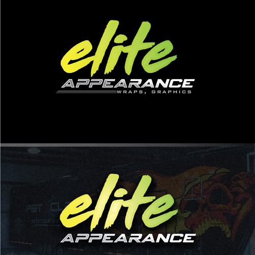 Bold logo concept for elite