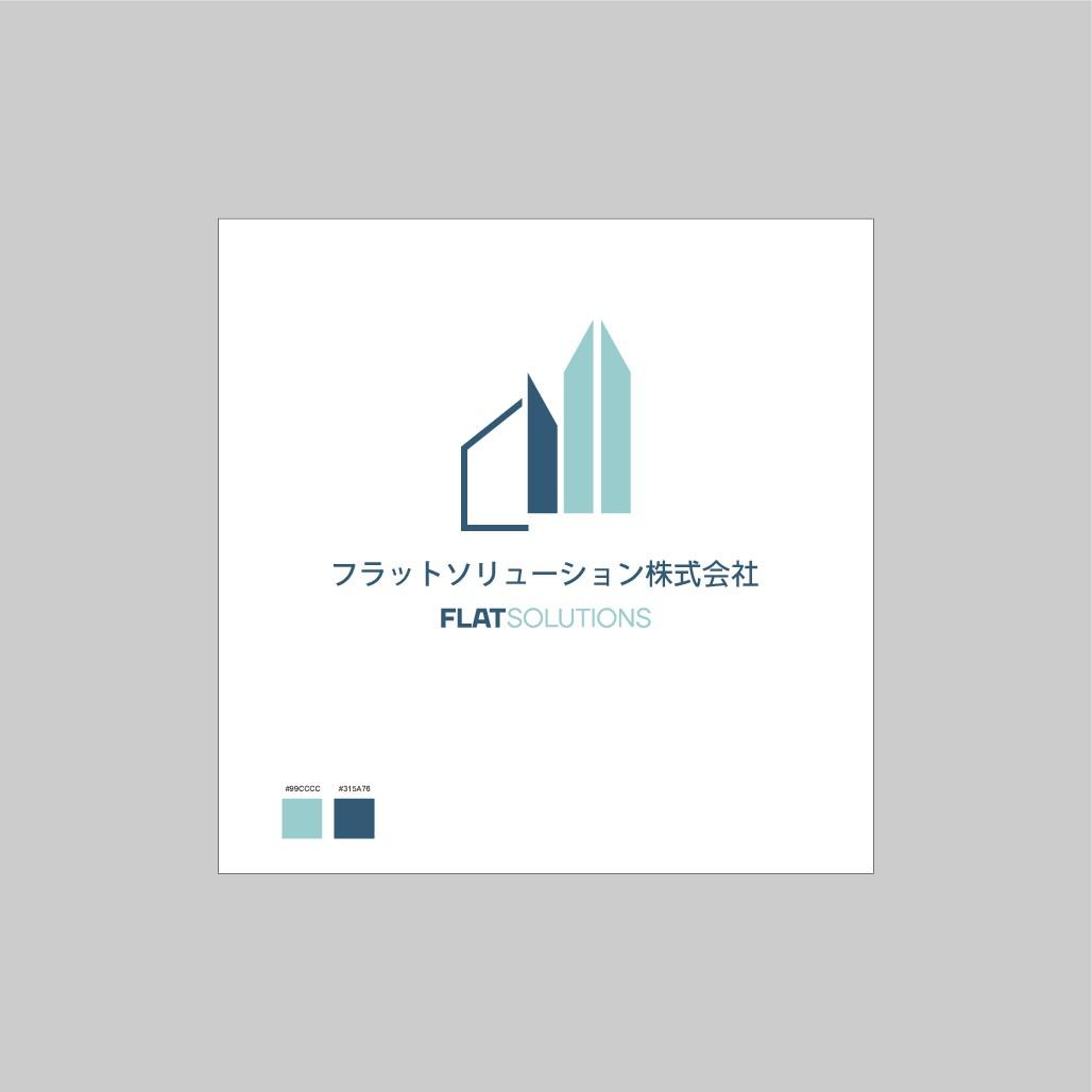 リノベーション専業のデザイン会社のロゴと名刺のデザイン
