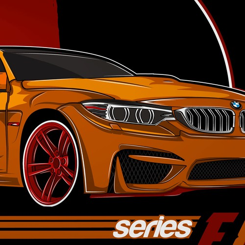 T shirt concept for BMW F80 series