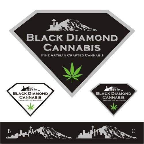 logo for Black Diamond Cannabis