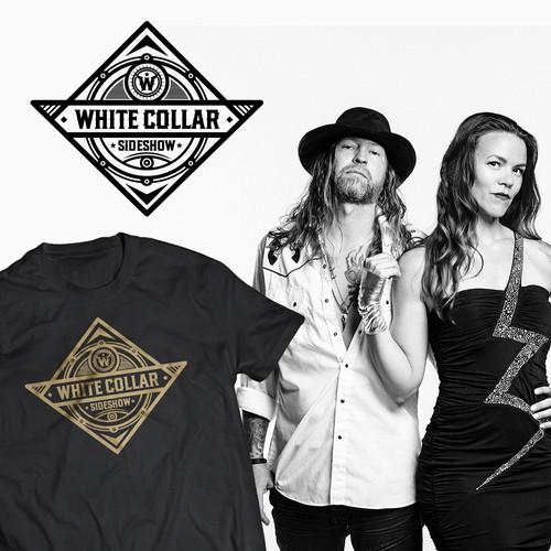 WHITE COLLAR SIDESHOW Band logo