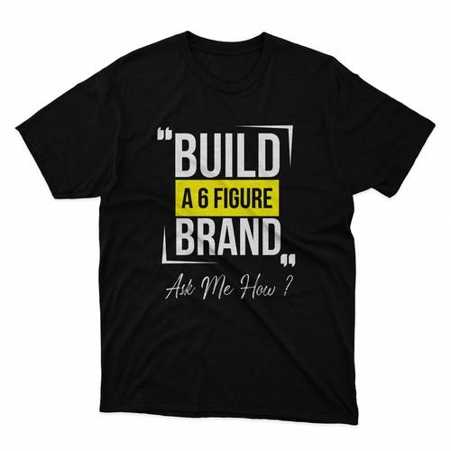 build a 6 figure brand