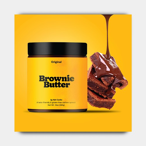 Design Mouth Watering Advertisements For A Brownie Butter