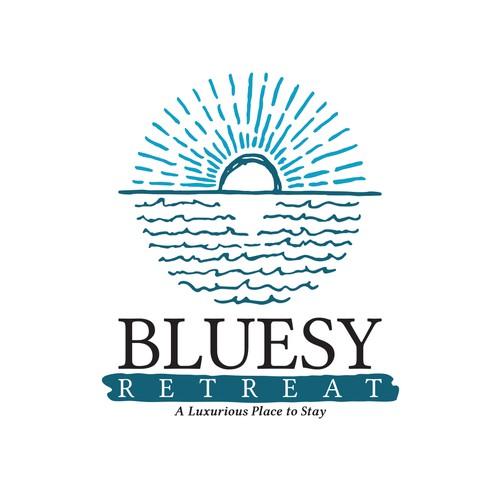 Logo for Bluesy Retreat