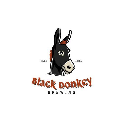 Logo for Black Donkey Brewing