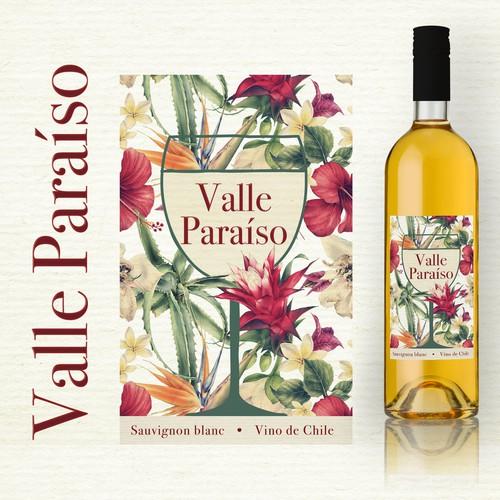 label for white wine