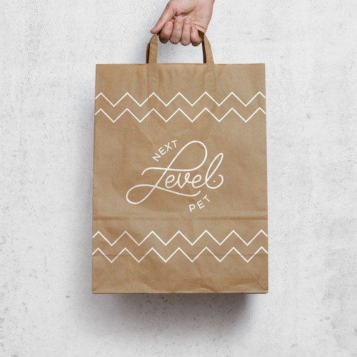 Custom Vintage Hand-Lettering for Next Level Pet