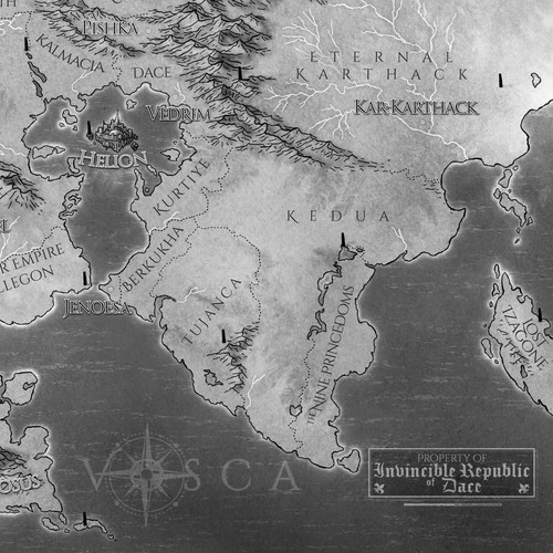 The Continent of Vosca