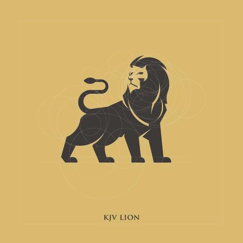 Impressive and Majestic Lion logo