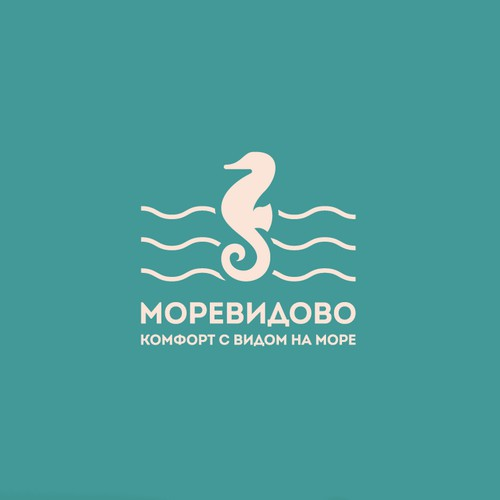 Logo for a complex of houses in the sea resort