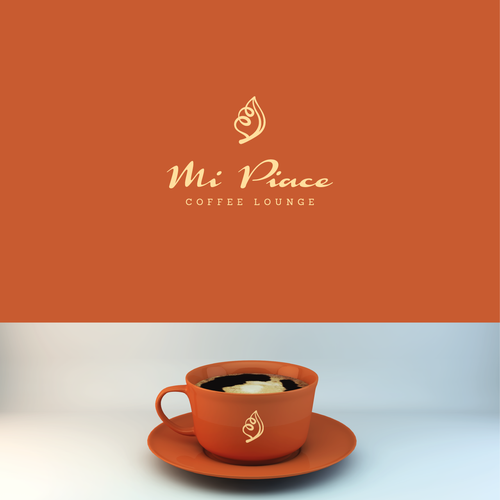 logo for MI PIACE coffee lounge