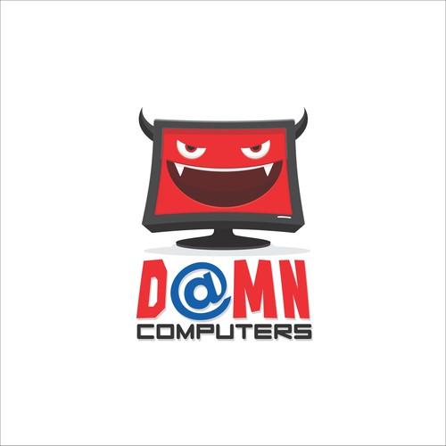 Badass Evil computer logo