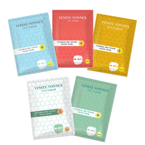 Product lable design for facial mask