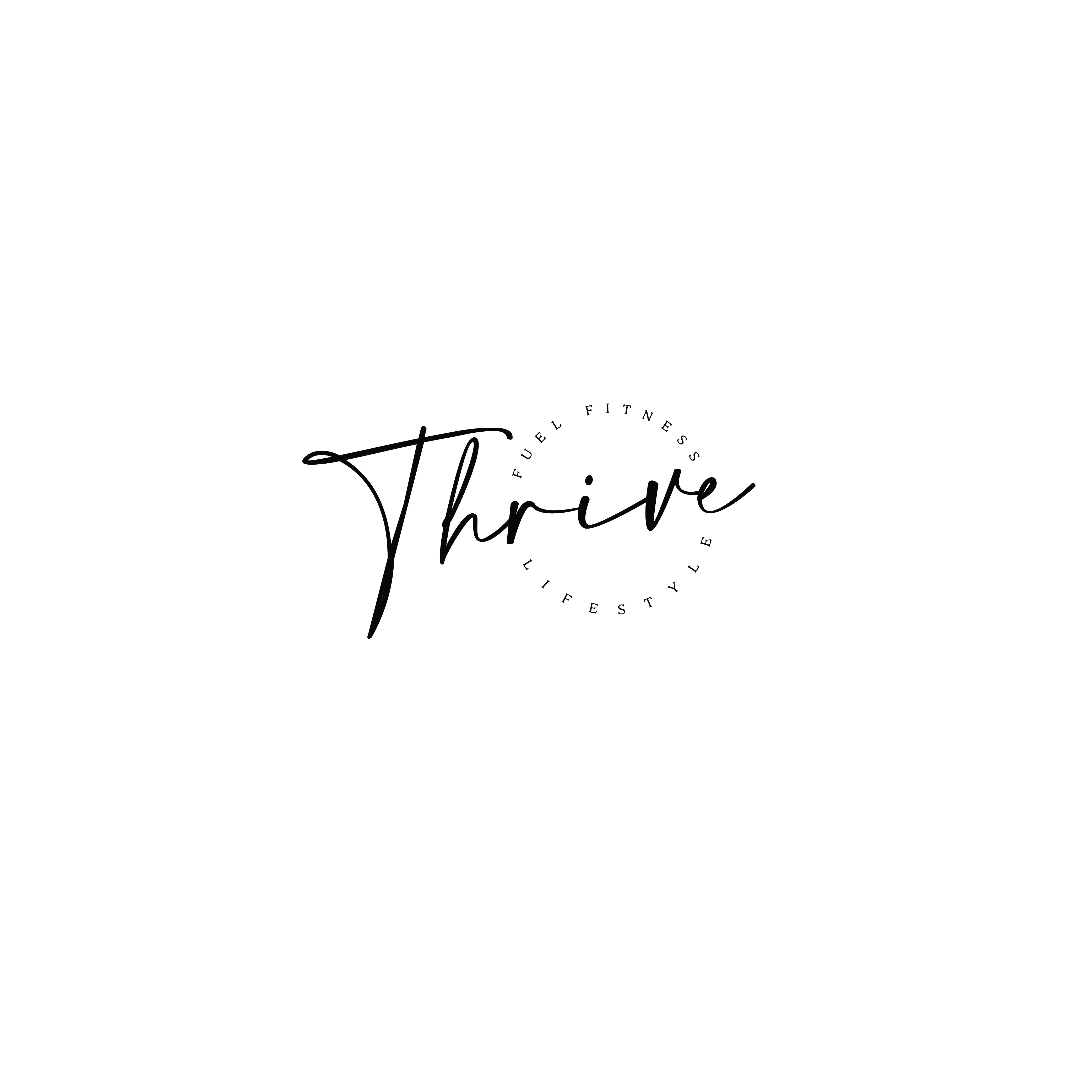 Simple feminine fitness and nutrition logo to give hope to women