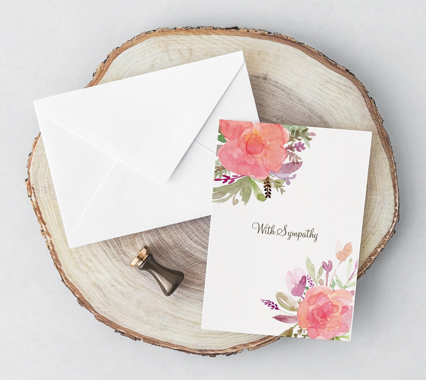 Design a Sympathy Card