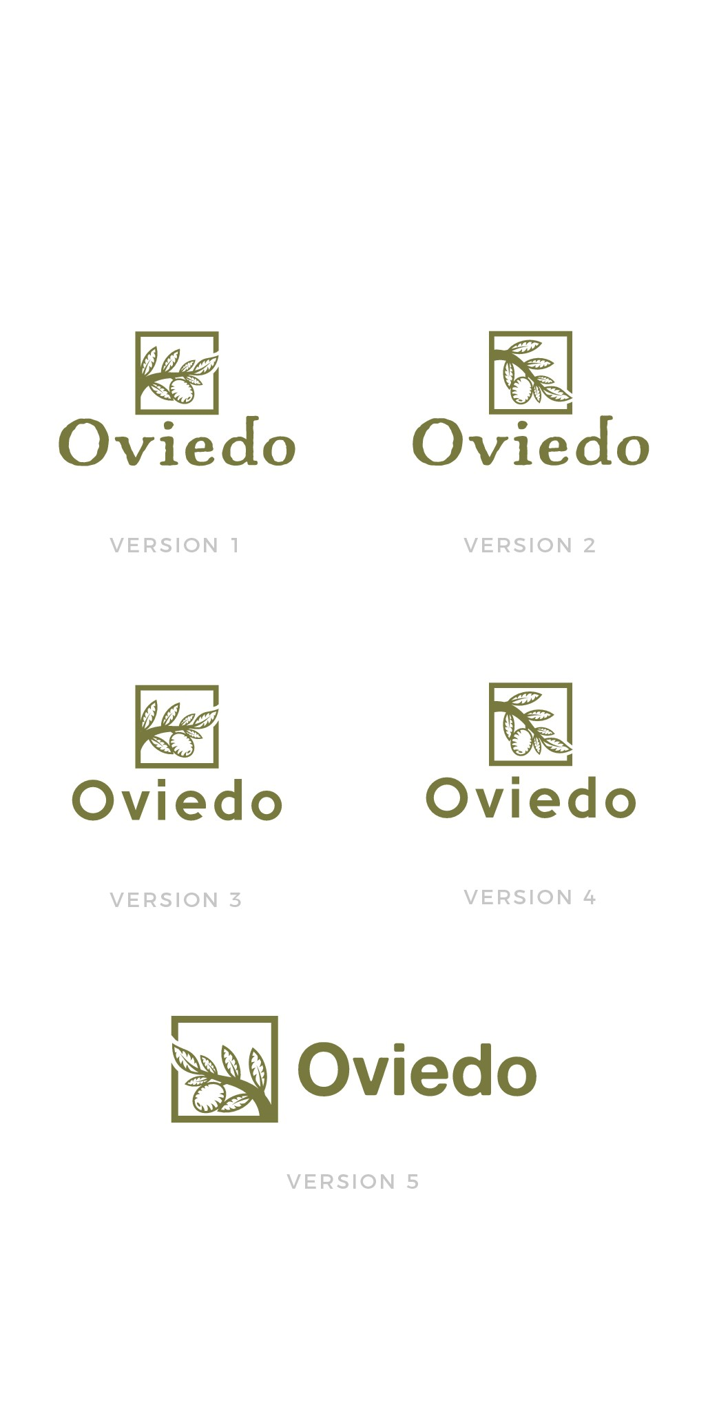 Create a logo for our Olive Oil products