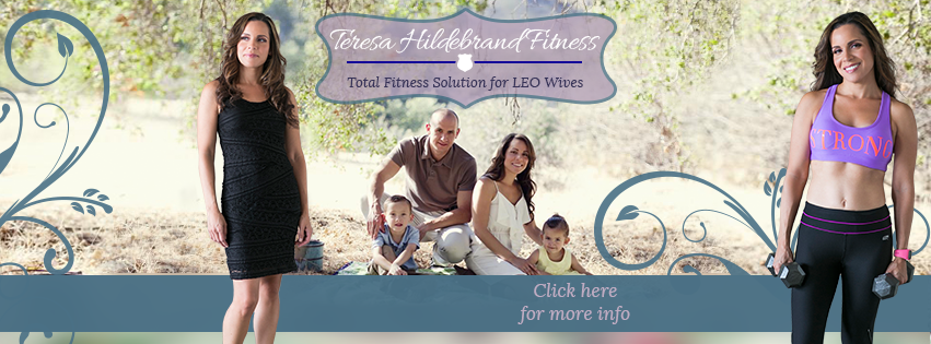Create stunning Facebook Cover Photo for Fitness Mom and Police Wife