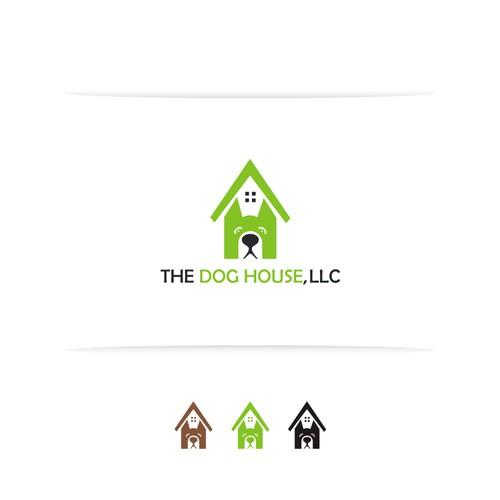 Dog+H Logo concept