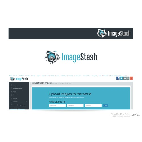 Logo for image hosting service